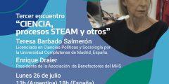 """Seminario online en vivo: """"Ciencia, procesos STEAM y otros"""""""